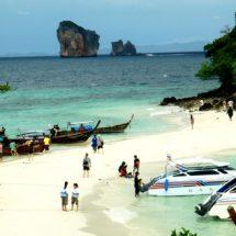 เที่ยวหาดไร่เลย์ ทะเลกระบี่