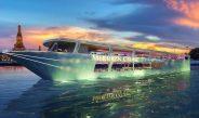 รีวิวเรือเมอริเดียนครูซ ดินเนอร์ ล่องแม่น้ำเจ้าพระยา